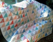 Modern Traditional City Weekend Patchwork Quilt