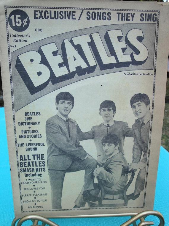 Beatles CDC Charlton Magazine - No. 1 Spring 1964 - Ringo Starr,George Harrison, John Lennon and Paul McCartney - Charlton