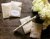 Reserved for Jenna, 120 Organic Seed Packet Wedding Favors