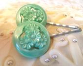 Betty Draper's Button Bobby Pin Set