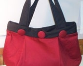 Shop Closing Feb 15 Clearance - was 49 - Gorgeous Wine Burgundy Garnet Pleated Bag Dark Red for the January Birthday Girl