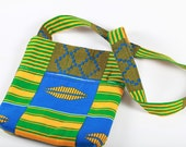 Shop Closing Feb 15 Clearance - was 35 - Kente Hipster Passport Travel Bag
