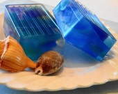 Soaps - Sea Glass Soap - Glycerin Soap - Handcrafted Soap