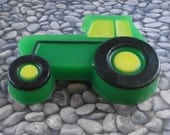 Soap - Big Green Tractor Soap - Glycerin Soap  - Party Favors - SoapGarden