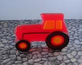 Soap - Big Red Tractor Soap -Glycerin Soap - Handmade Soap - Party Favor - SoapGarden