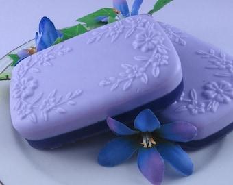 Lavender Fields Soap -  Glycerin Soap - Handmade Soap - Spring Soap - Floral Scent - SoapGarden