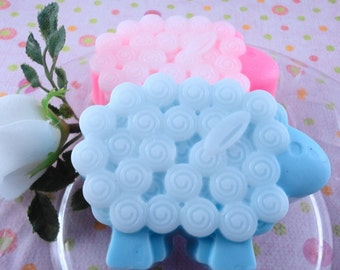 Soap - Baa Baa Blue Sheep Soap Made with Shea Butter - Glycerin Soap - Handmade Soap - Baby Shower - SoapGarden