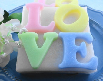 Soaps - A Mother's Love Soap Made with Shea Butter - Glycerin Soap - Handmade Soap - Wedding Favors - SoapGarden