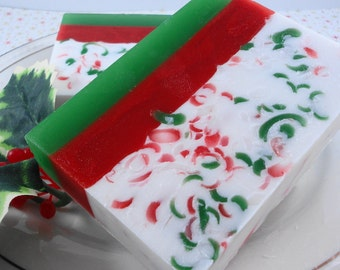 Soap - Santa's Beard  Soap - Glycerin Soap - Holiday Soap - Christmas Soap - Christmas Cookies - SoapGarden