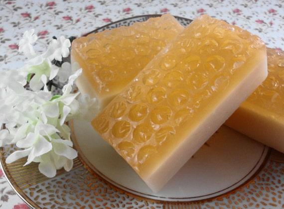 Soap - Bees Knees Soap - Glycerin Soap - Handmade Soap - Honey Soap - SoapGarden
