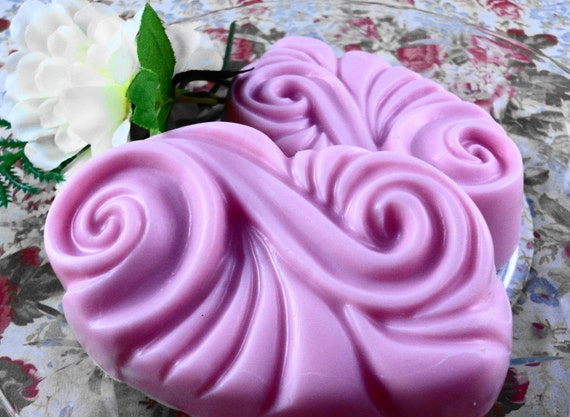 Soap - Pomegranate Passion Made With Shea Butter - Glycerin Soap - Handmade Soap - SoapGarden