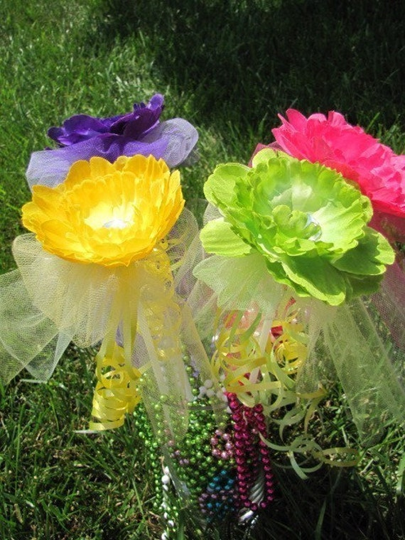 Beautiful Boutique Flower Fairy Wands.  Perfect for dress-up play, costumes, dance recitals, photos, and everyday fun.