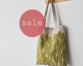 SALE TOTE BAG - leaves