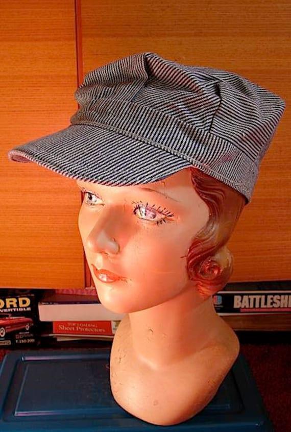 Vintage 60s Engineer Cap