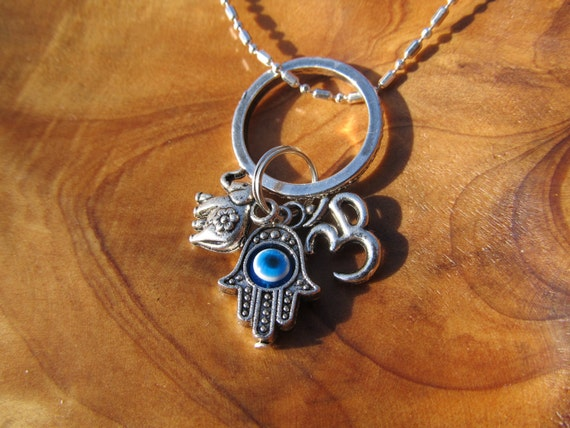 Items Similar To Protection From Evil Charm Necklace With