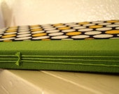Lime Green and Polka Dot Notebook