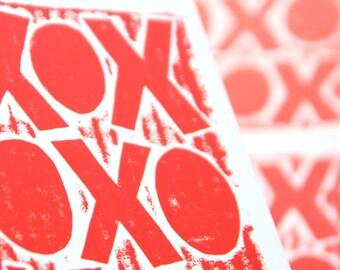 3 Postcards Love XOX Hugs and Kisses Postcard set or Any 3 Postcards