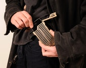 EXO7 Belt Buckle and Holster iPhone 4 & 4S Brass Case