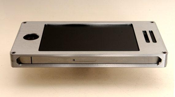 iPhone 4/4S Metal case - EXO6 Silver Aluminum