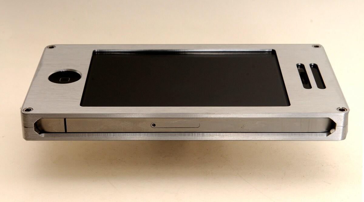 Exovault Metal Iphone Case The aluminum exo6 case is both