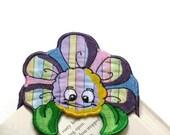 Cloth Flower Bookmark-