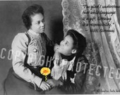 Best Friends Listen - 4 x 6 inch Postcard - African American Women Best Friends Series
