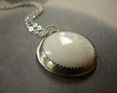 Silver Moon -  Necklace