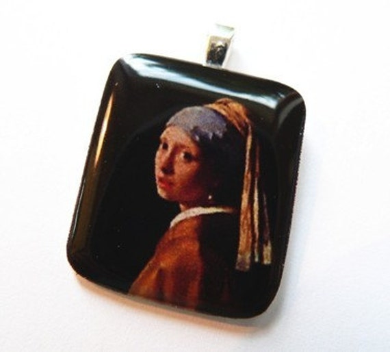 Girl with a pearl earring - Pendant