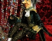 Reduced in price Art Doll OOAK - Reuben