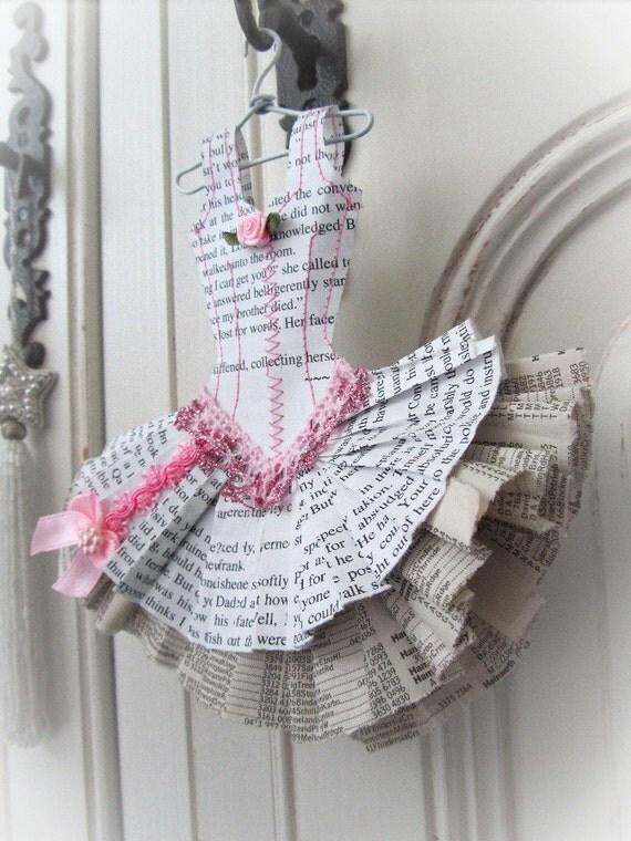 Papier Boudoir - Ballerina with glitter lace