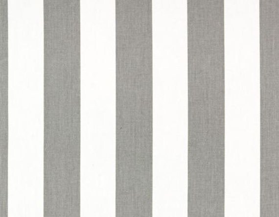 Curtain Panels Grey And White Stripe Drapery By