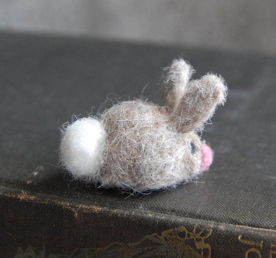Tiny Waldorf Bunny, Cottontail Bunny