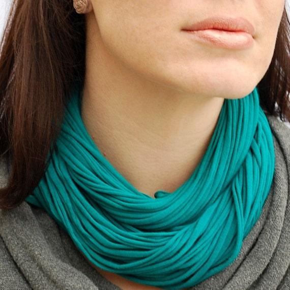 Teal Luxe NeckScape Blue Green scarf cowl