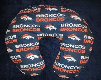 Denver Broncos Baby - Boppy Cover - Boppy slipcover,Nursing pillow cover, boppy pillow cover, baby shower, gift, nfl, football
