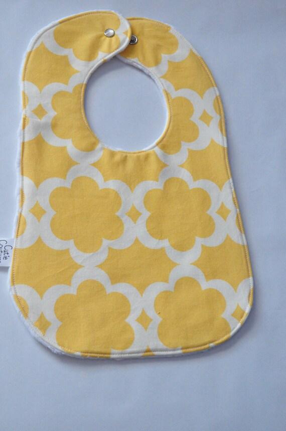 Yellow Taza baby bib
