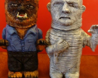 Were-wolf  And Mummy S/P shakers(standard Size)*Made To Order*