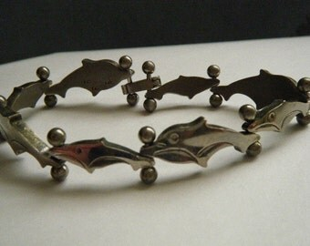 Dolphin Bracelet Sterling Silver