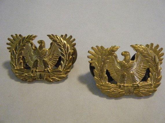 Vintage American Eagle Military Tack Pins