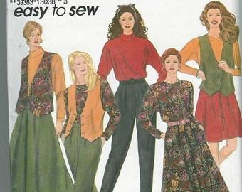 Simplicity 8016 Skirt\/Top\/Vest\/Pants SZ 18-24
