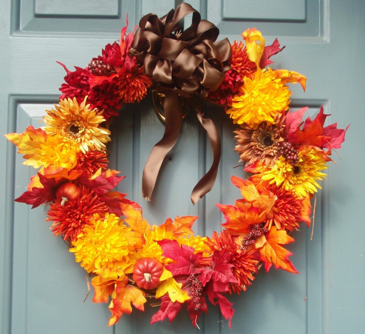 Autumn Fall Door Wreath On Sale