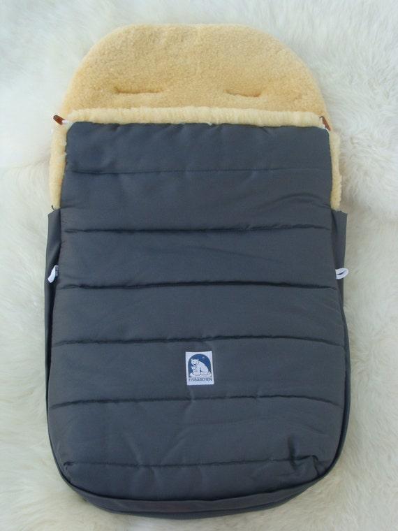 Warm Cozy Unique Sheepskin Baby Sack
