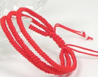 Three Lives Red String Bracelet
