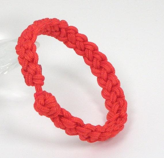 Good Luck  (Wide)  Red String Bracelet