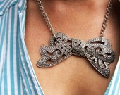 Take a Bow Marcasite Necklace