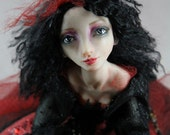 OOAK Art Doll Fortune Teller Clarice