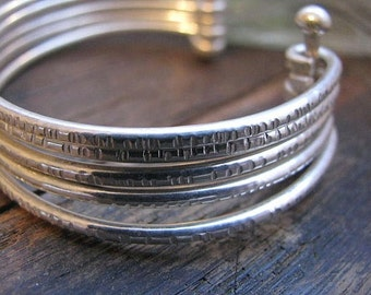 Favorite Sterling Silver Multi-Bangle Bracelet