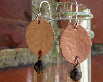 Everyday Copper Earrings