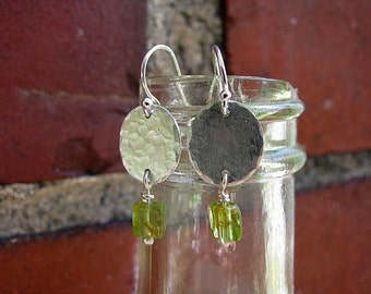 Everyday Earrings with Peridot