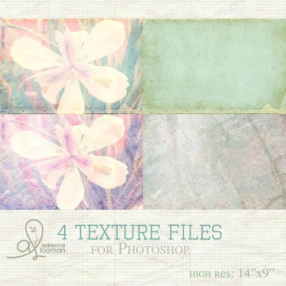 4 Texture Overlays INSTANT DOWNLOAD