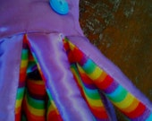 SALE: Plush / Stuffed Purple Rainbow / Gay Pride / Dumbledore Giant Squid (36 in long)